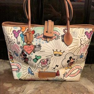 Dooney and Bourke Disney Sketch Bag